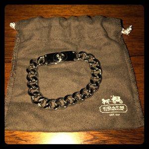COACH Sterling Silver Bracelet